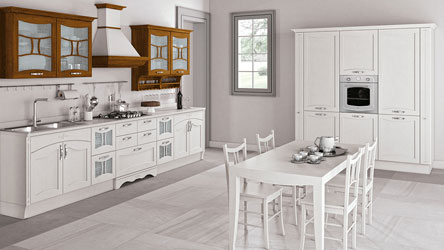 cucina aurea creo classica in bianco